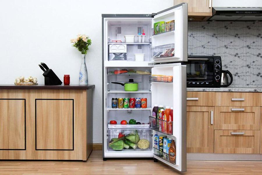 Đặt tủ lạnh ở nơi khô ráo