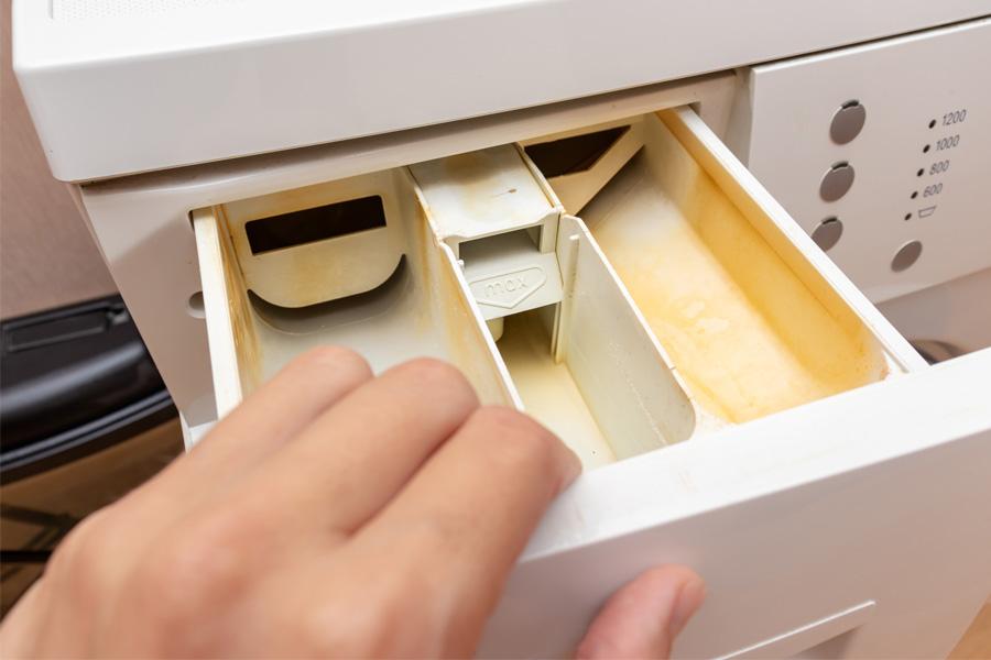 Các bước để vệ sinh máy giặt Toshiba cửa trước